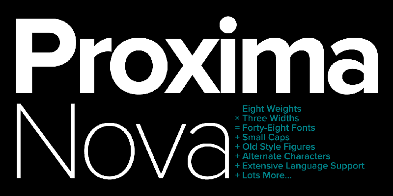فونت Proxima