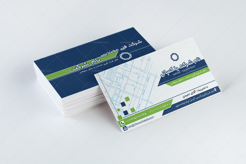 Business cards Technical Office